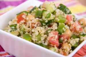 healthy delicious quinoa salad